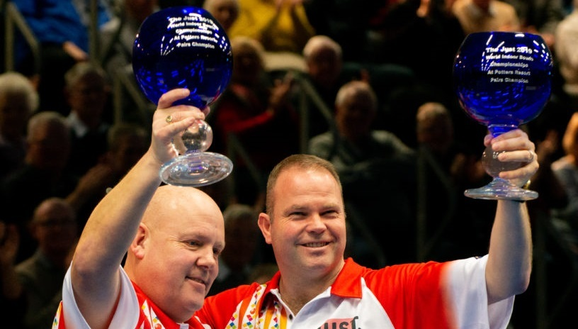 Marshall and Foster World Indoor Pairs Champions