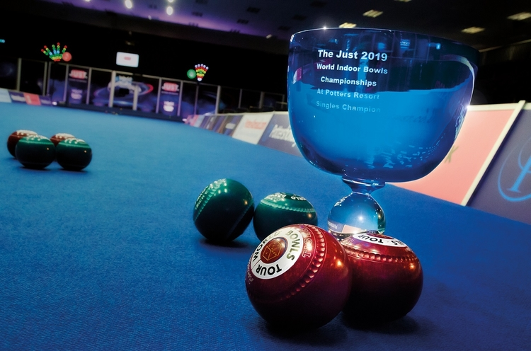World Indoor Bowls winners cup 2019