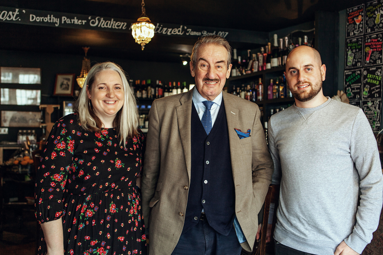 John Challis with Just employees